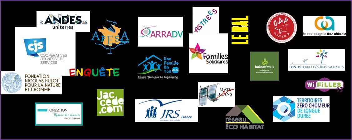 Logos bénéficiaires